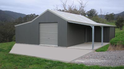 Traditional Aussie Barn