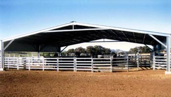 Cattle yard cover
