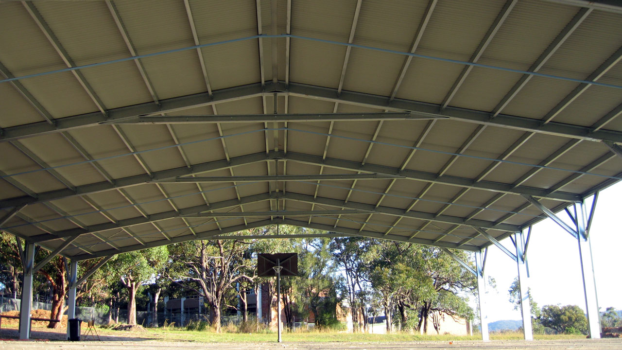 Covered Shelter Polygon : Colas covered outdoor learning areas for schools